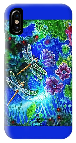 Dragonflies IPhone Case