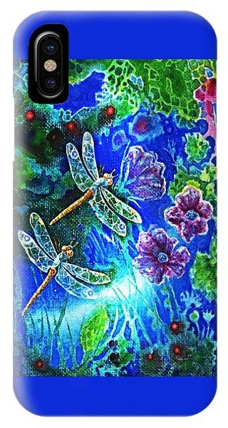 Dragonflies IPhone Case