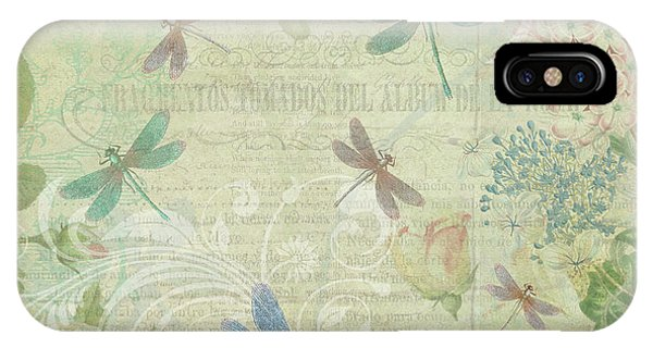 Dragonfly Dream IPhone Case