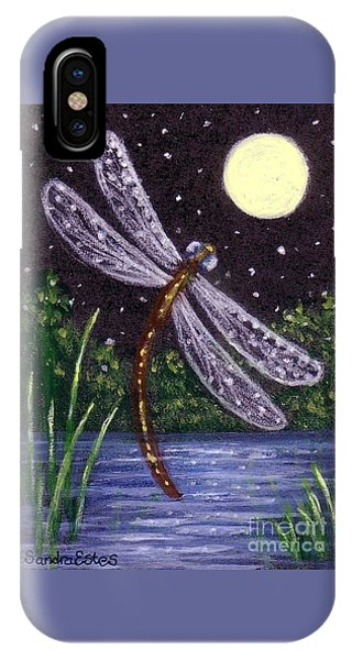 Dragonfly Dreaming IPhone Case