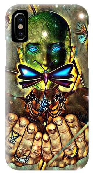 Dragonfly Empath IPhone Case