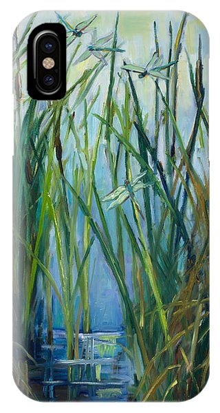 Dragonfly Fest Plein Air IPhone Case