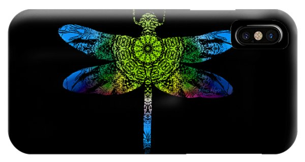 Dragonfly Kaleidoscope IPhone Case