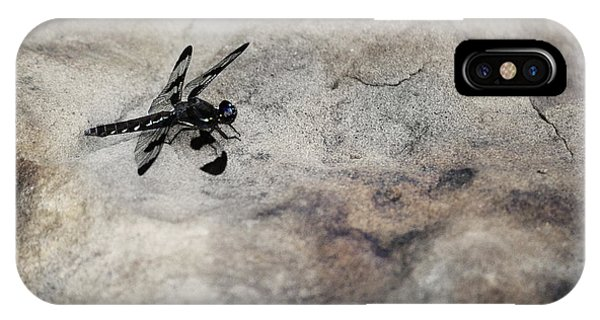 Dragonfly On Solid Ground IPhone Case