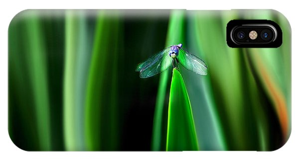 Dragonfly Meditation IPhone Case