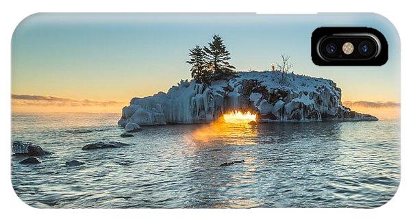 Dragon's Breath  // North Shore, Lake Superior IPhone Case