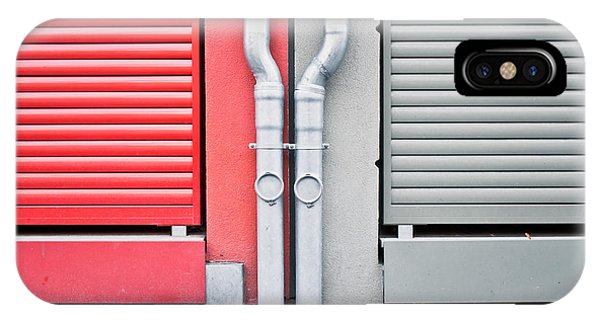 Drain iPhone Case - Drain Pipes by Tom Gowanlock