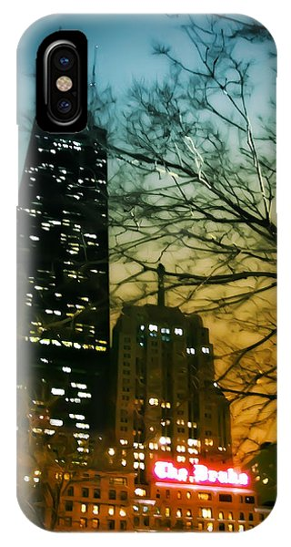 Chicago iPhone Case - Drake Palmolive Hancock by Scott Norris