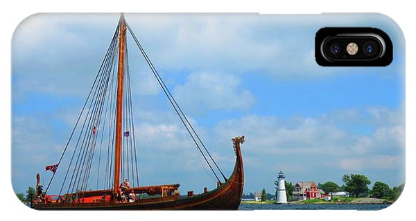 The Draken Passing Rock Island IPhone Case