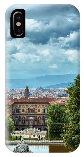 Drama In The Palace Of Firenze IPhone Case