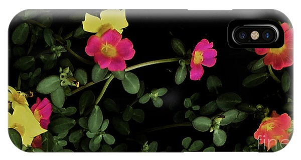 Dramatic Colorful Flowers IPhone Case
