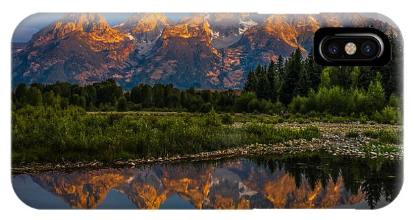 Dramatic Grand Teton Sunrise IPhone Case