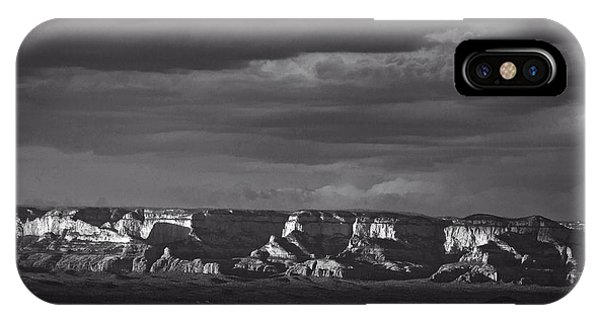 IPhone Case featuring the photograph Dramatic Late Afternoon Light by Ron Chilston