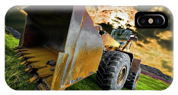Dramatic Loader IPhone Case