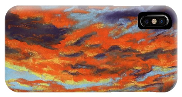 Dramatic Sunset - Sky And Clouds Collection IPhone Case