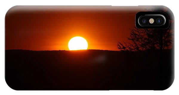 Dramatic Sunset View From Mount Tom IPhone Case