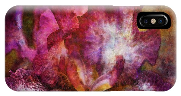 Dramatic White And Purple 0273 Idp_2 IPhone Case