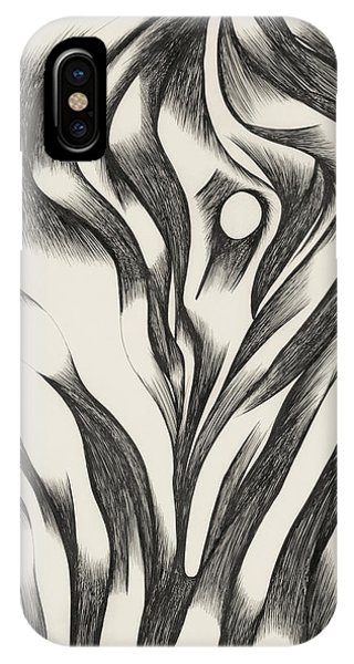 iPhone Case - Drawing Closeup by Gretchen Dreisbach