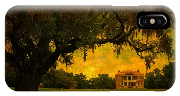 Drayton Hall Plantation In Charleston IPhone Case