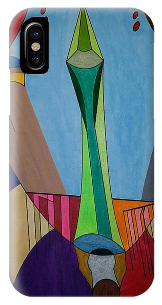 IPhone Case featuring the painting Dream 312 by S S-ray