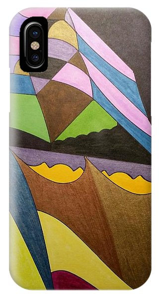 IPhone Case featuring the painting Dream 321 by S S-ray