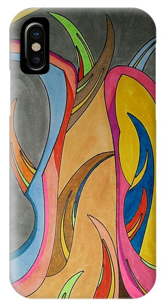 IPhone Case featuring the painting Dream 324 by S S-ray