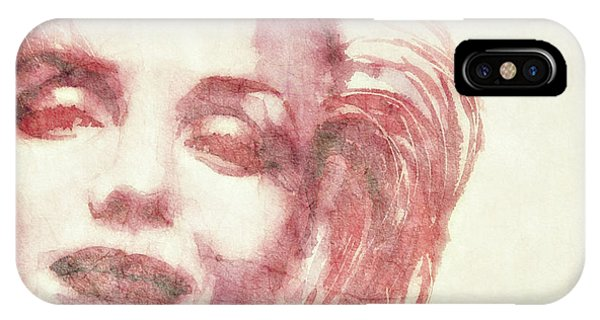 Marilyn Monroe iPhone Case - Dream A Little Dream Of Me by Paul Lovering