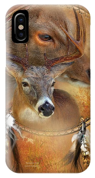 Dream Catcher - Autumn Deer IPhone Case