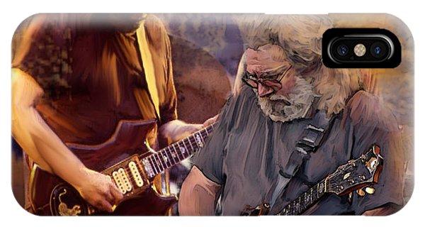Dream Colors  Jerry Garcia Greatful Dead IPhone Case