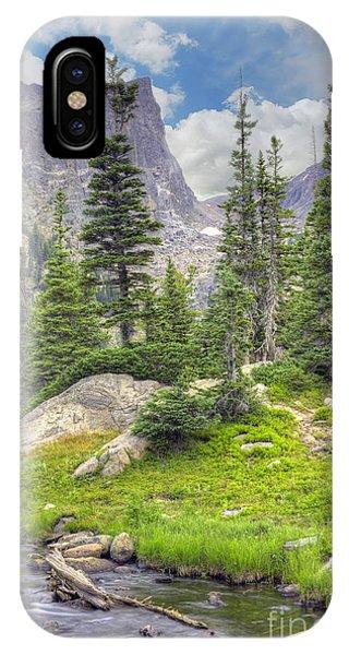 Boulder iPhone Case - Dream Lake by Juli Scalzi