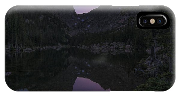 IPhone Case featuring the photograph Dream Lake Reflections by Gary Lengyel