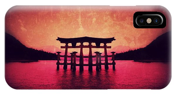Dream Of Japan IPhone Case