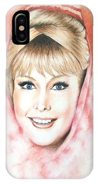 Smoke Fantasy iPhone Case - Dream Of Jeannie by Yelena Day