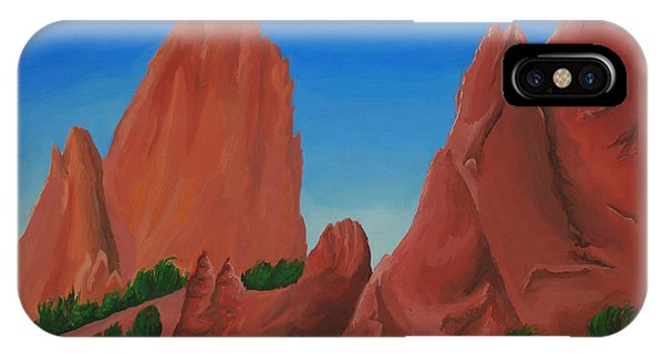 Dreaming Beneath The Spires IPhone Case