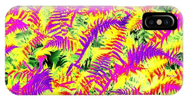 Dreaming Ferns IPhone Case