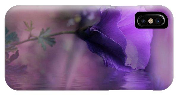 Dreaming In Purple IPhone Case
