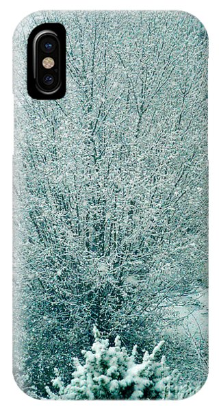 Dreaming Of A White Christmas - Winter In Switzerland IPhone Case