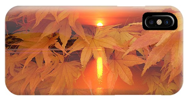 Dreaming Of Fall IPhone Case