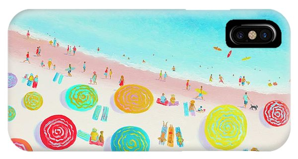Dreaming Of Sun, Sand And Sea IPhone Case