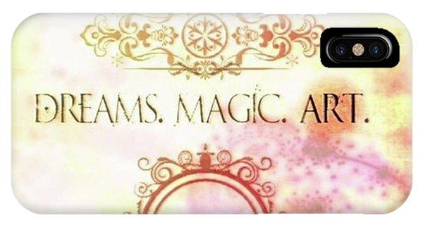 #dreams #magic #art #creativity Phone Case by Michal Dunaj