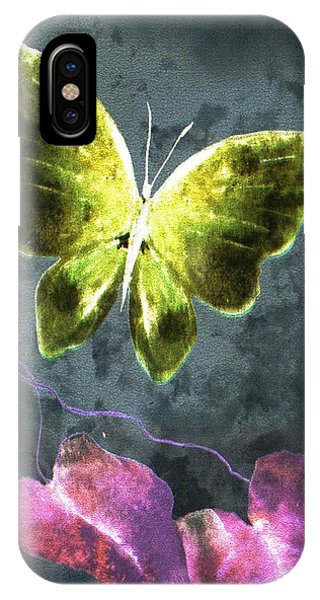 Dreams Of Butterflies IPhone Case