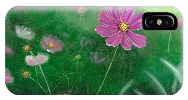 Cosmos Flowers IPhone Case