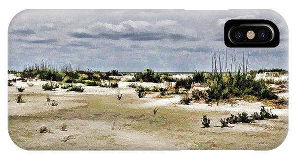 Dreamy Sand Dunes IPhone Case