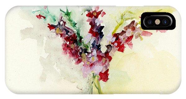Dreamy Orchid Bouquet IPhone Case