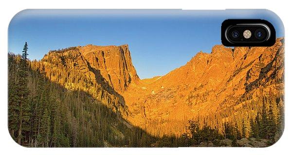 Rocky Mountain Np iPhone Case - Dreamy Sunrise by Kunal Mehra