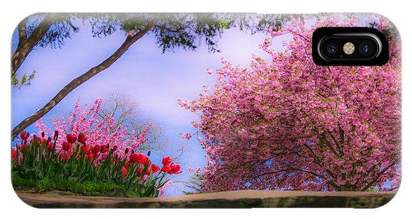 Dreamy Tulip Respite IPhone Case