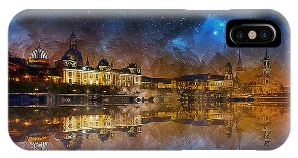 Gothic iPhone Case - Dresden At Night by Ian Mitchell