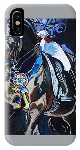Dressage Stallion IPhone Case