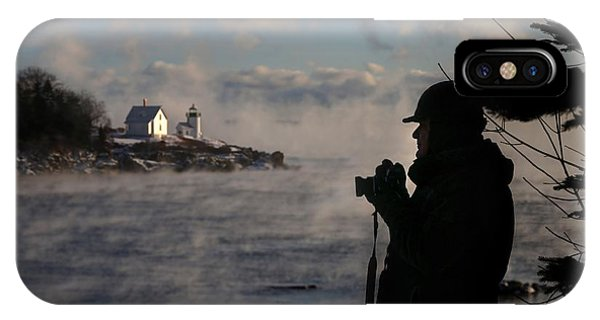 Dressed For Sea Smoke IPhone Case