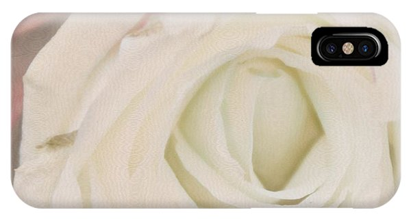 Dressed In White Satin IPhone Case